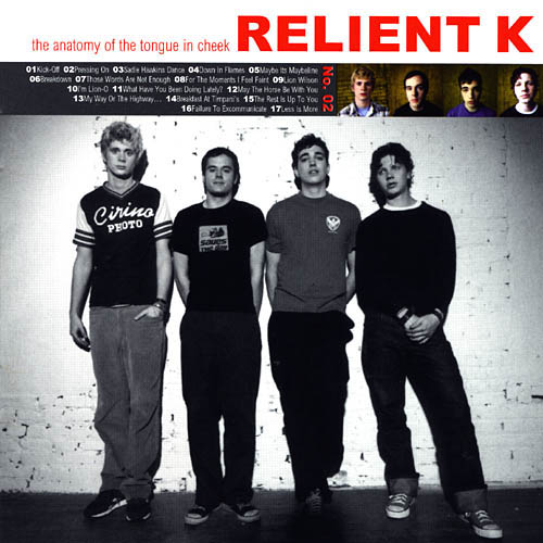 The Anatomy of the Tongue in Cheek by Relient K